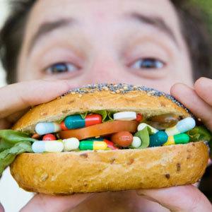 pill burger